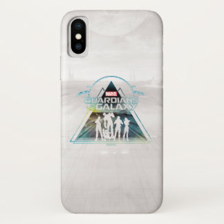 Guardians of the Galaxy | Triangle Outline Crew iPhone X Case