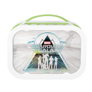 Guardians of the Galaxy | Triangle Outline Crew Lunch Box