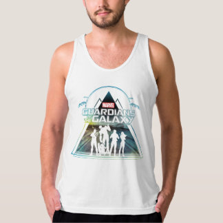 Guardians of the Galaxy   Triangle Outline Crew Singlet