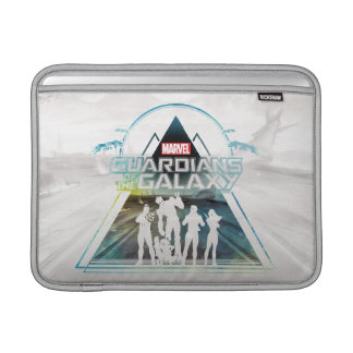 Guardians of the Galaxy | Triangle Outline Crew Sleeve For MacBook Air