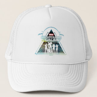 Guardians of the Galaxy | Triangle Outline Crew Trucker Hat