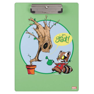 Guardians of the Galaxy | Watering Groot Clipboards
