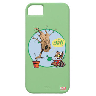 Guardians of the Galaxy | Watering Groot iPhone 5 Cover