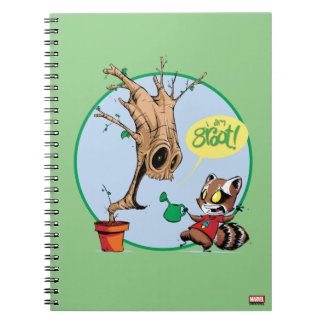 Guardians of the Galaxy | Watering Groot Notebook