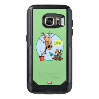 Guardians of the Galaxy   Watering Groot OtterBox Samsung Galaxy S7 Case