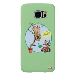 Guardians of the Galaxy | Watering Groot Samsung Galaxy S6 Cases