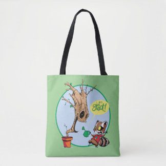 Guardians of the Galaxy | Watering Groot Tote Bag