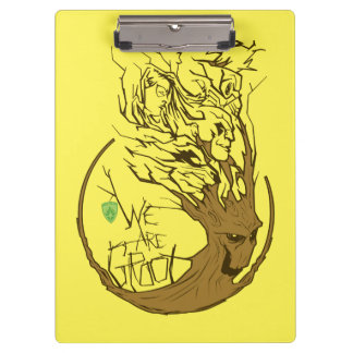 Guardians of the Galaxy | We Are Groot Branches Clipboard