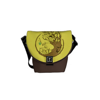 Guardians of the Galaxy | We Are Groot Branches Messenger Bag
