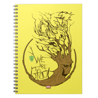 Guardians of the Galaxy | We Are Groot Branches Notebook