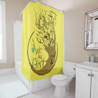 Guardians of the Galaxy | We Are Groot Branches Shower Curtain