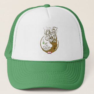 Guardians of the Galaxy | We Are Groot Branches Trucker Hat