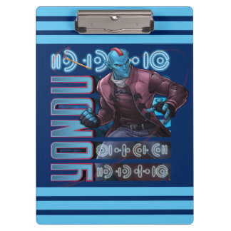Guardians of the Galaxy | Yondu Character Badge Clipboards