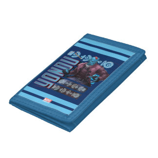 Guardians of the Galaxy | Yondu Character Badge Tri-fold Wallet