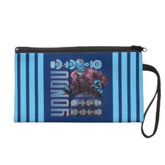 Guardians of the Galaxy   Yondu Character Badge Wristlet