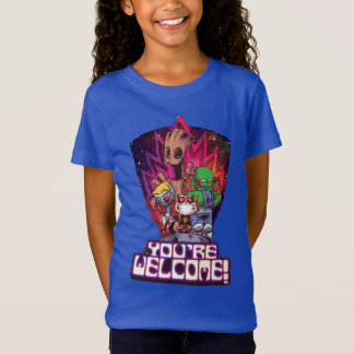 Guardians of the Galaxy | You're Welcome! T-Shirt
