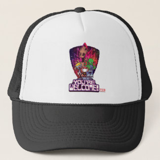 Guardians of the Galaxy | You're Welcome! Trucker Hat