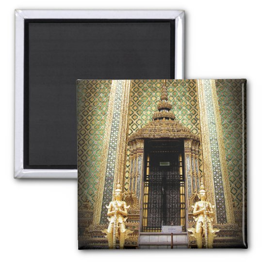Guardians of the Golden Palace Thail Photo Magnet
