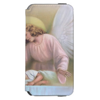 Guarding angel of children,vintage,reproduction incipio watson™ iPhone 6 wallet case