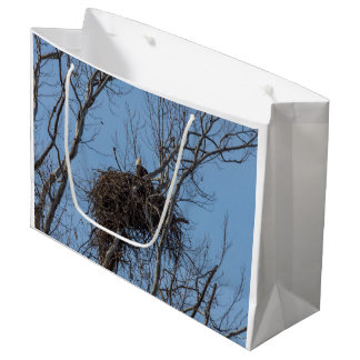 Guarding Eagle Large Gift Bag