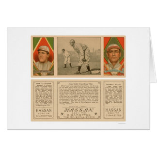 Guarding First Red Sox Baseball 1912 Card