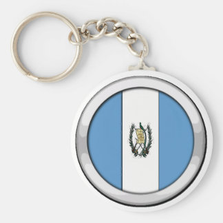 Guatemala Badge Key Ring