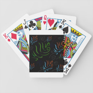 Guatemala black amazing Folk design Poker Deck