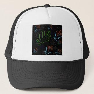 Guatemala black amazing Folk design Trucker Hat