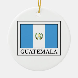 Guatemala Ceramic Ornament