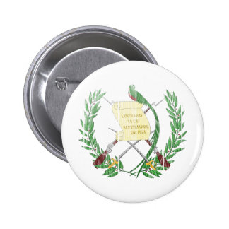 Guatemala Coat Of Arms 6 Cm Round Badge