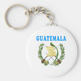 Guatemala Coat Of Arms Designs Key Ring