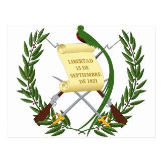 Guatemala Coat of Arms Postcard