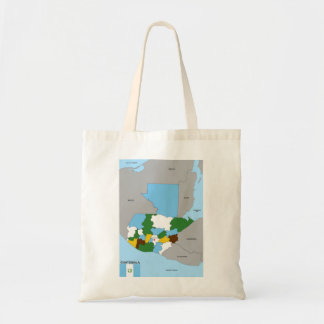 guatemala country political map flag budget tote bag