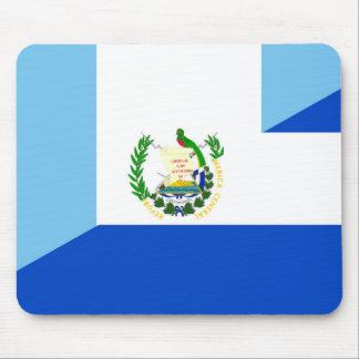 guatemala el salvador half flag country symbol mouse pad