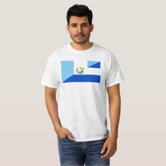 guatemala el salvador half flag symbol T-Shirt