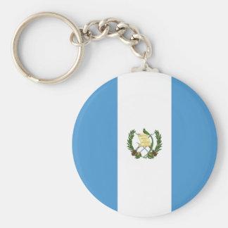 Guatemala Flag Key Ring