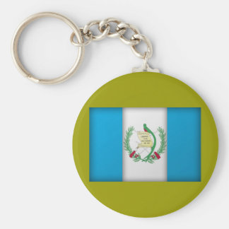 guatemala flag key ring