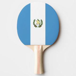 Guatemala Flag Ping Pong Paddle