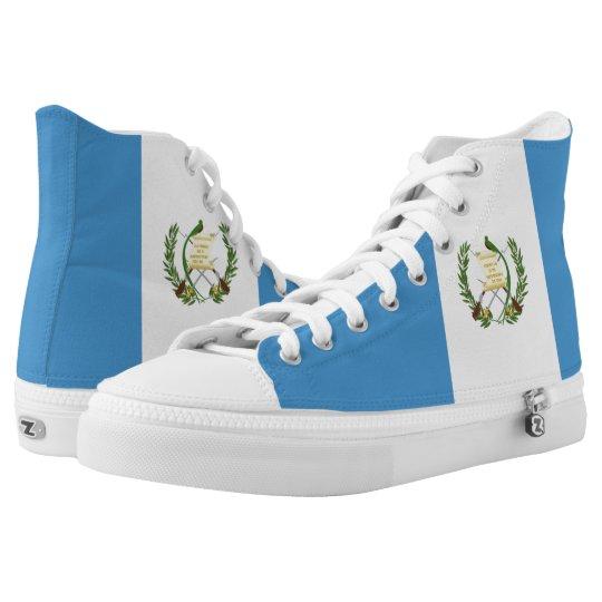 Guatemala Flag Printed Shoes