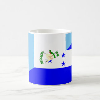guatemala honduras half flag symbol coffee mug