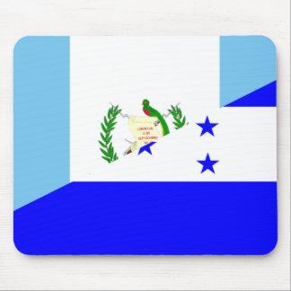 guatemala honduras half flag symbol mouse pad