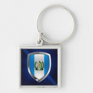 Guatemala Mettalic Emblem Key Ring