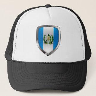 Guatemala Mettalic Emblem Trucker Hat