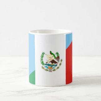 guatemala mexico half flag symbol coffee mug