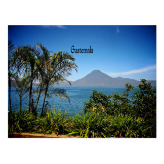 Guatemala, Nature's Beautiful Landscape Postcard