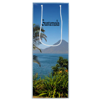 Guatemala, Nature's Beautiful Landscape Wine Gift Bag