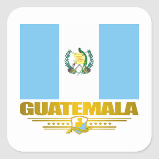 Guatemala Pride Square Sticker