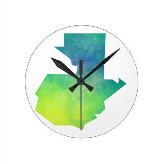 Guatemala Round Clock