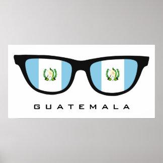Guatemala Shades custom text & color poster