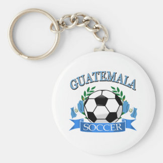 Guatemala soccer ball designs basic round button key ring